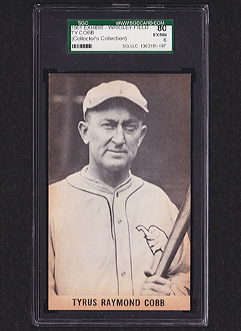 1961 Exhibits Ty Cobb