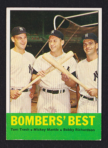 1963 Topps Mickey Mantle