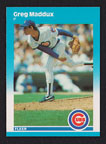 1987 Fleer Update Greg Maddux