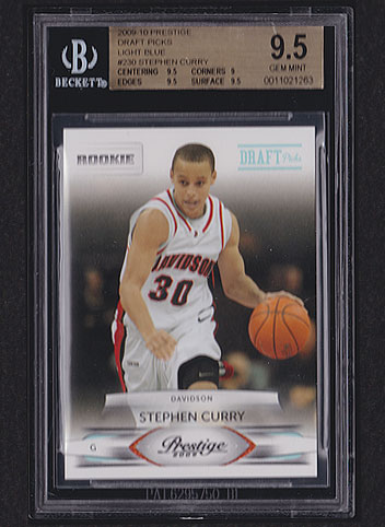 2009 Prestige Stephen Curry